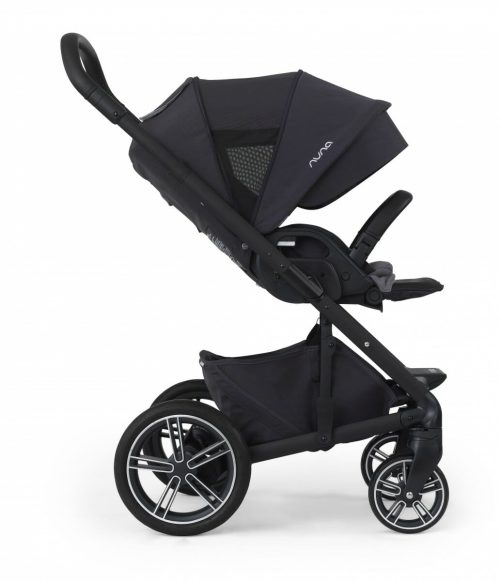 Nuna Mixx2 jett facing world canopy footrest up