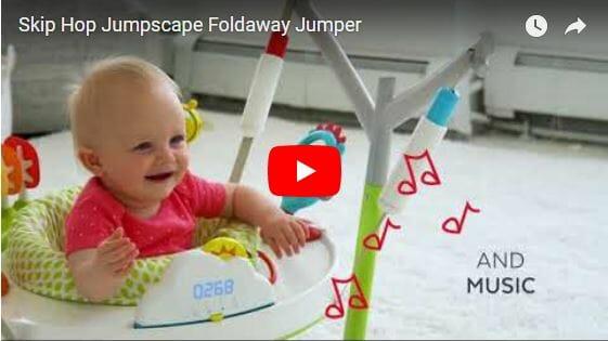 Skip Hop Explore & More Jumpscape Foldaway Jumper Video