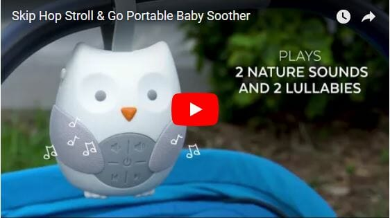 Skip Hop Stroll & Go Portable Baby Soother Video