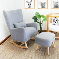 Babyhood Valencia Rocking Chair Greystone Lifestyle