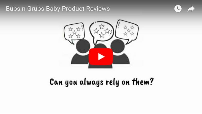 Bubs n Grubs Customer Product Reviews Video