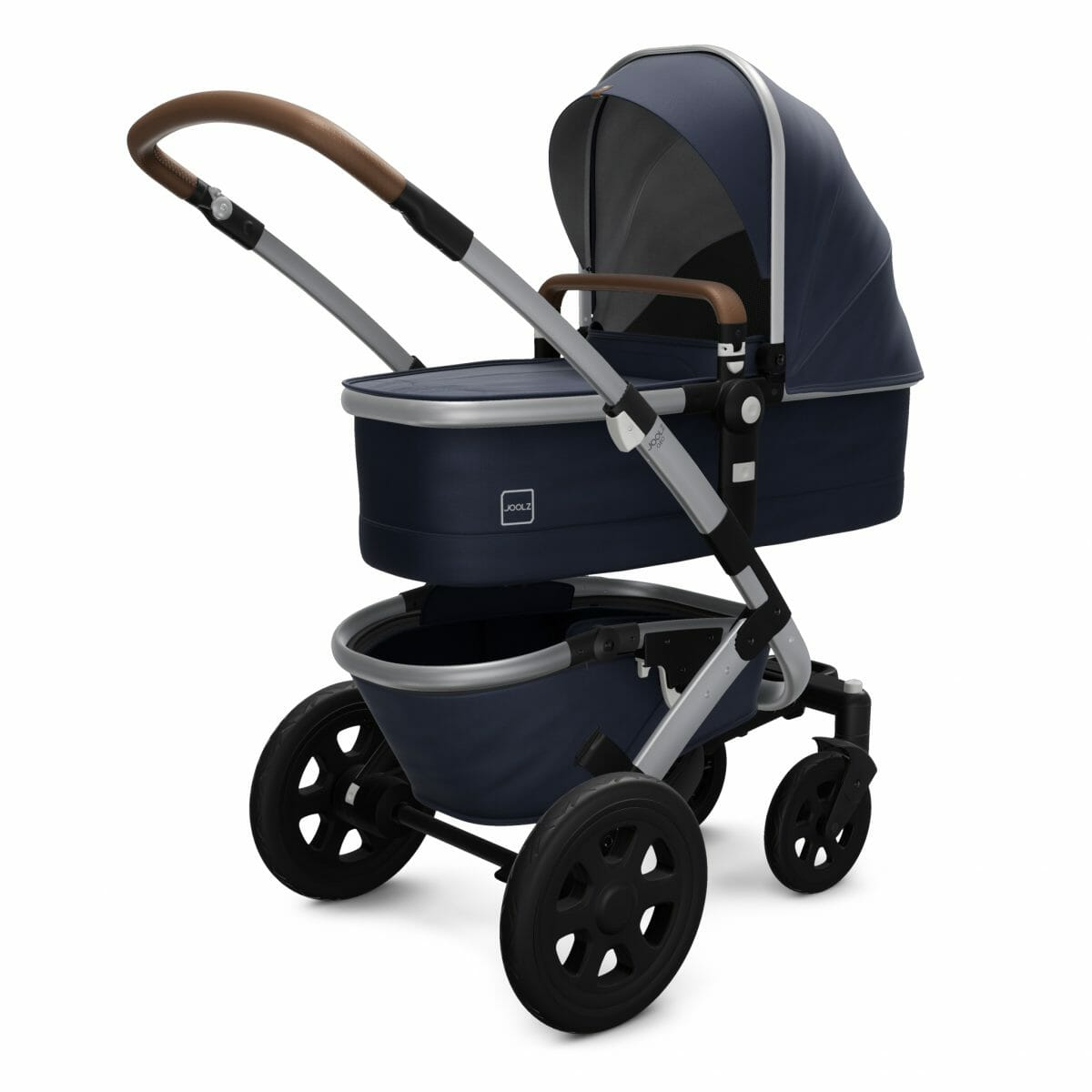 Joolz Geo2 Cot Classic Blue Perspective