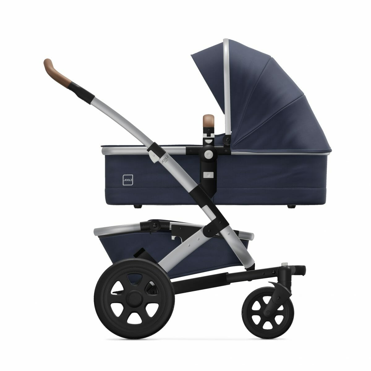 Carry Cot Classic Blue Side