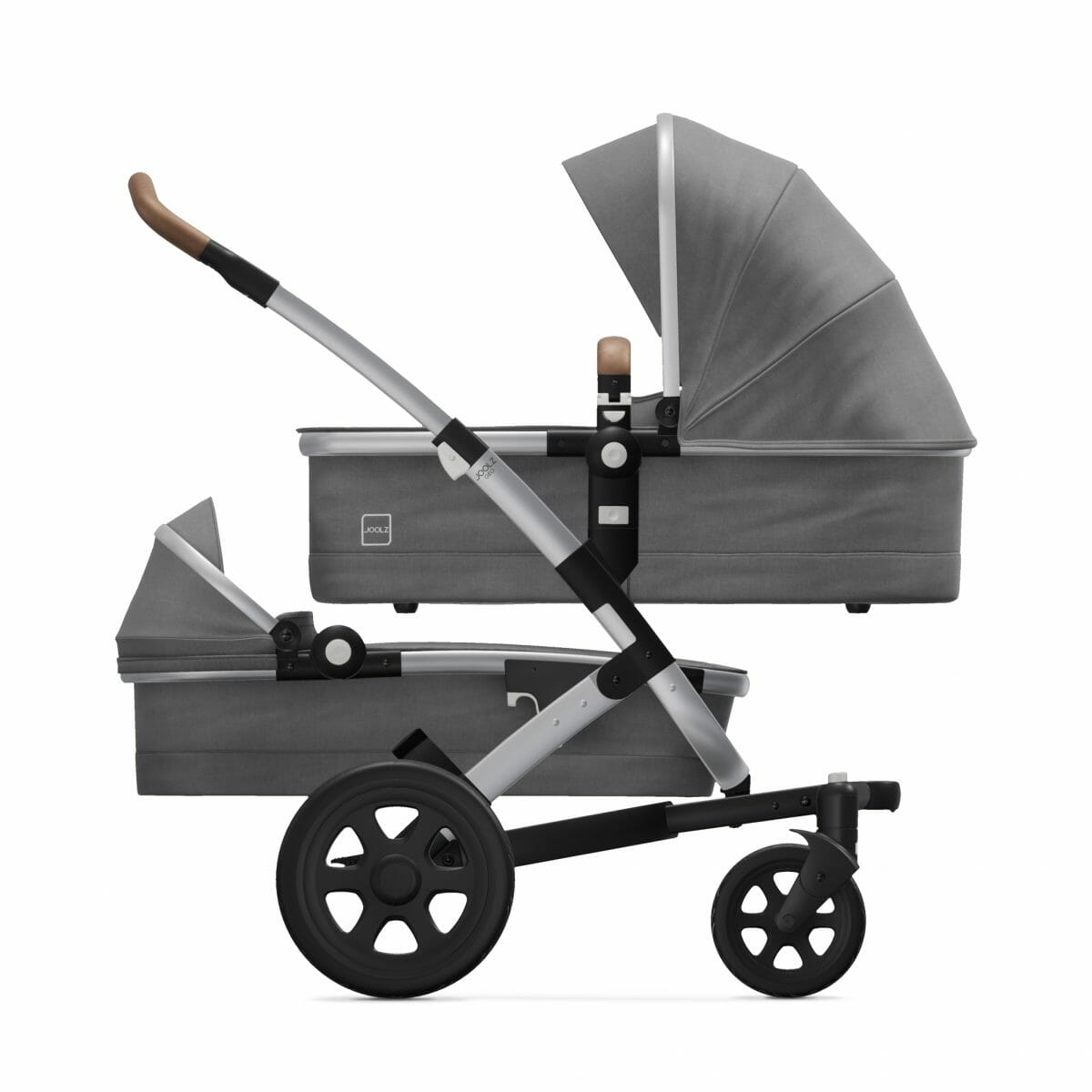 Cot Cot Radiant Grey Side
