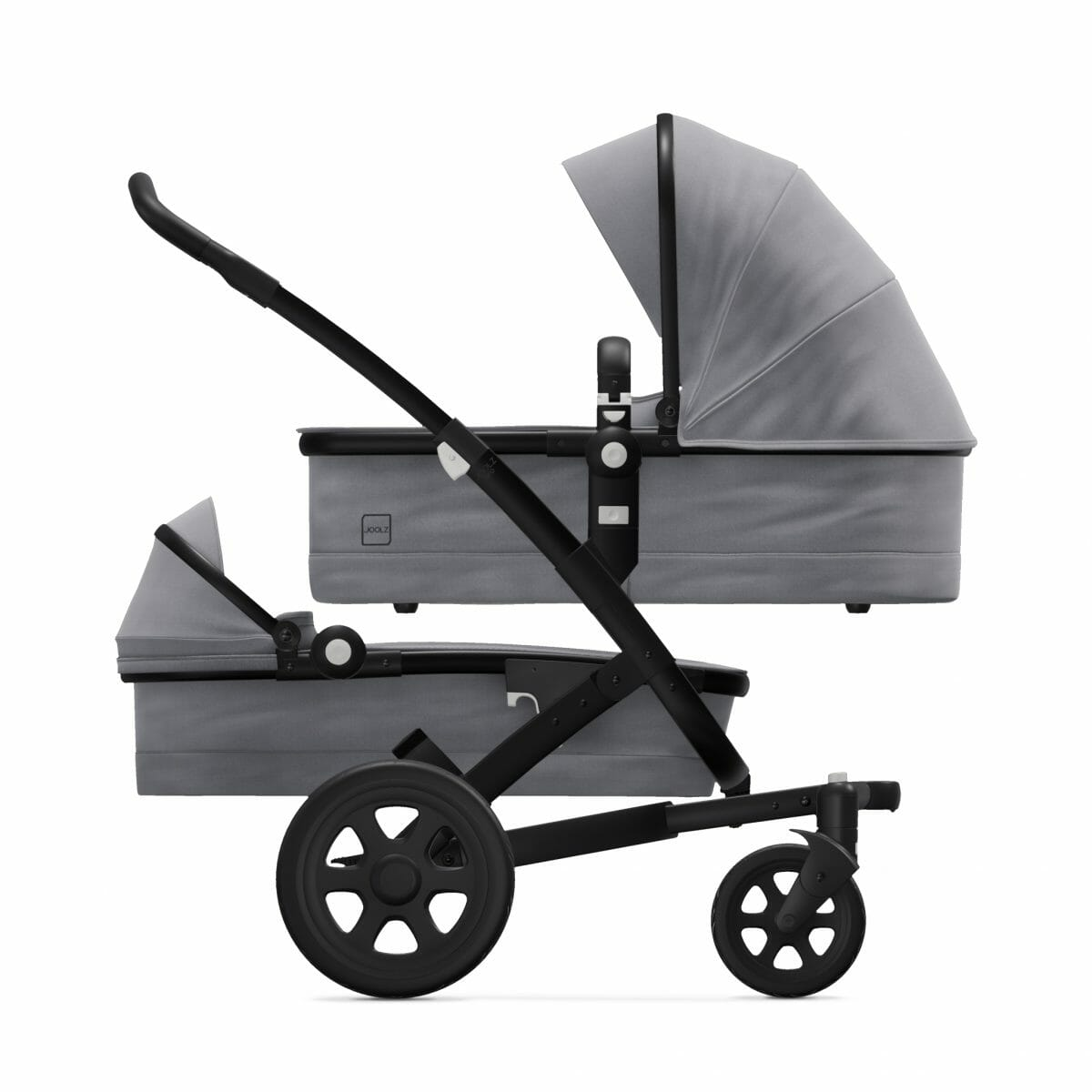 Cot Cot Superior Grey Side