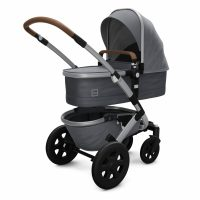 Joolz Geo2 Cot Gorgeous Grey Perspective