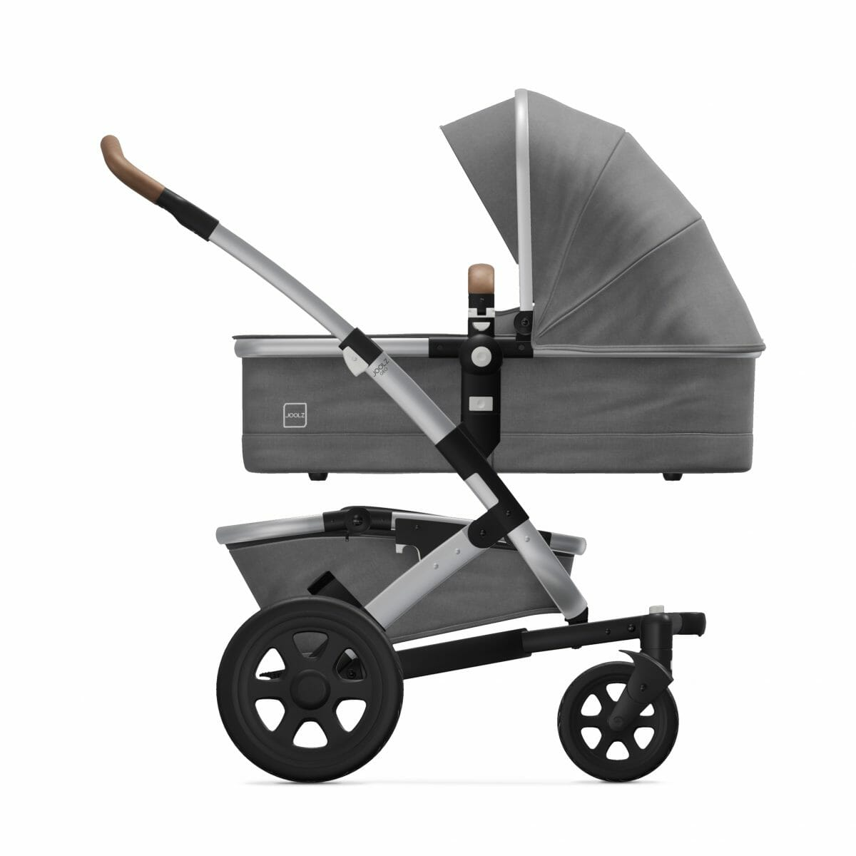 Cot Radiant Grey Side