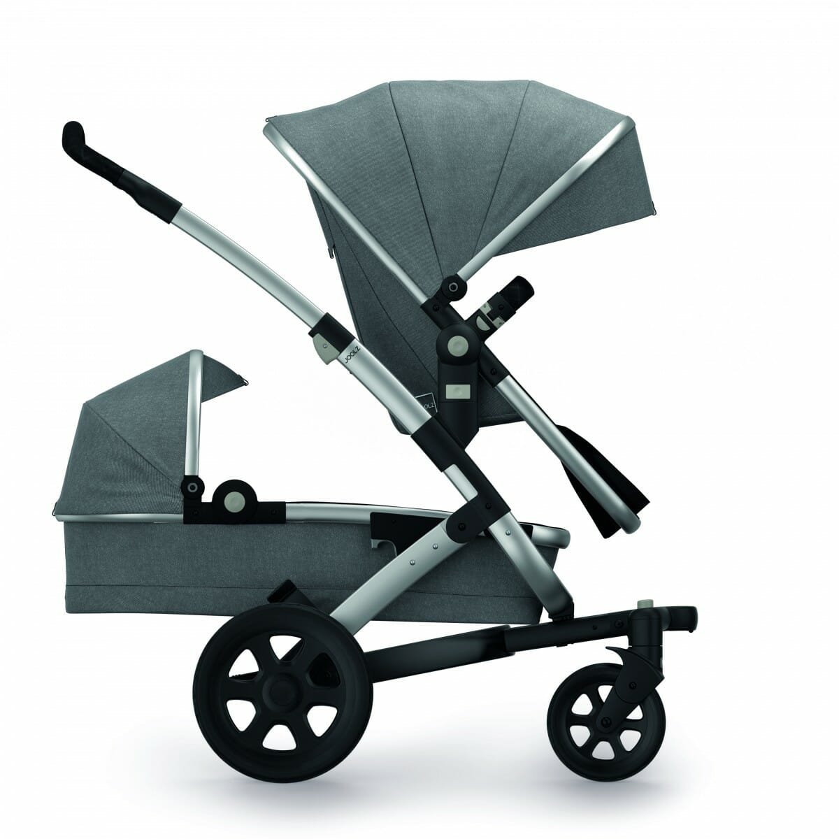 Joolz Geo2 Seat Bassinet Studio Graphite Duo