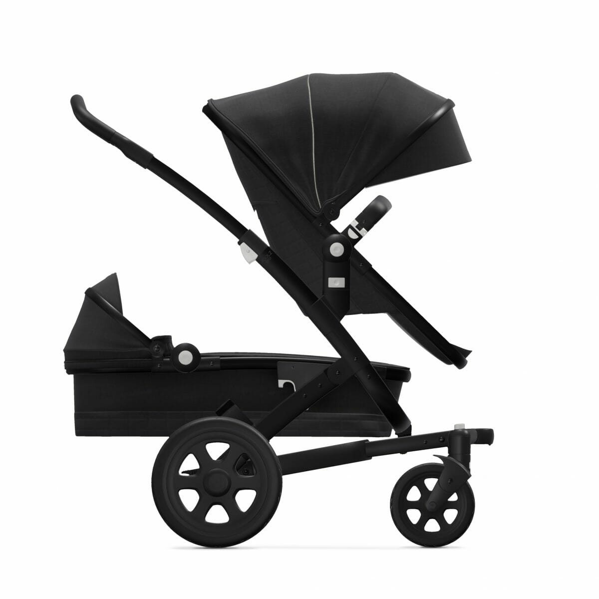 Seat Cot Brilliant Black Side