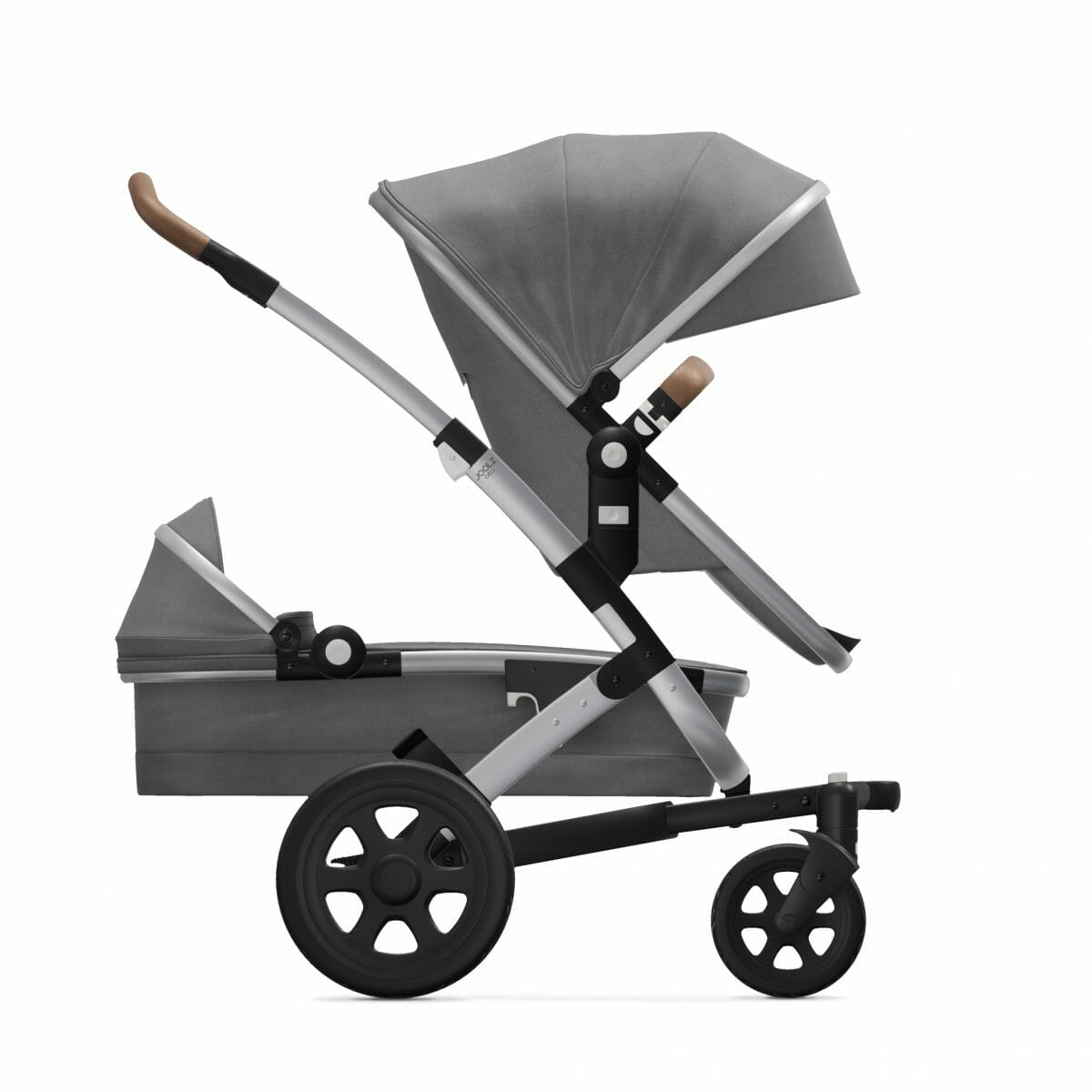 Seat Cot Radiant Grey Side