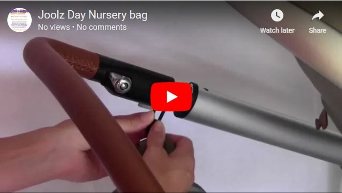Joolz Nursery Bag Video