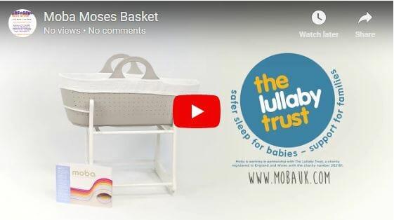 Moba Moses Basket Video