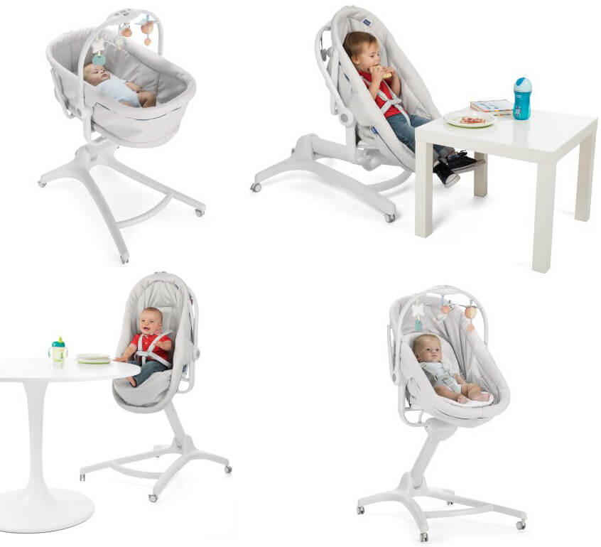 Chicco Baby Hug 4 In 1 Modes