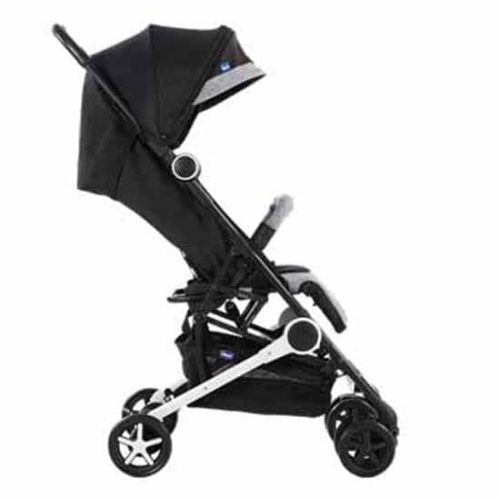 Chicco Miinimo Compact Travel Stroller Black Retractable Canopy