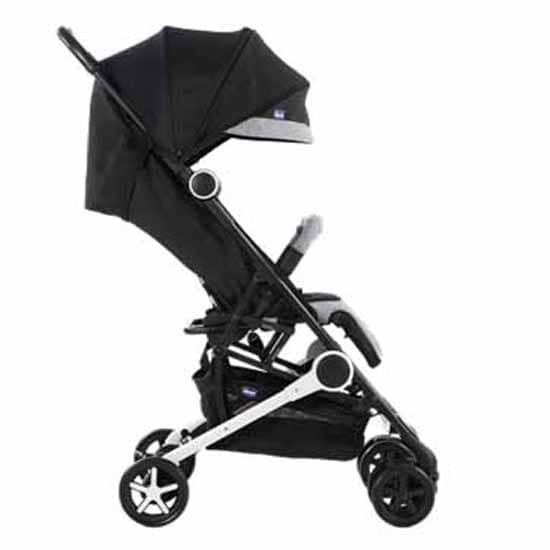 Chicco Miinimo Compact Travel Stroller Black Side