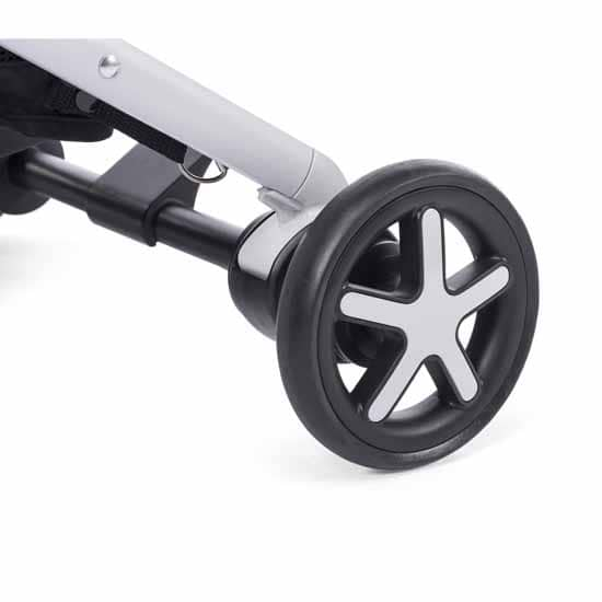 Chicco Miinimo Compact Travel Stroller Black Wheel