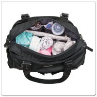 Vanchi Florence Traveler Nappy Bag Black (2)