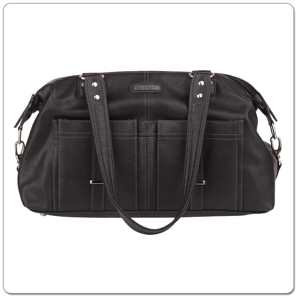Vanchi Florence Traveler Nappy Bag Black (4)
