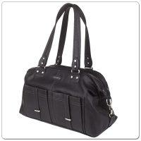Vanchi Florence Traveler Nappy Bag Black (6)