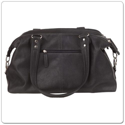 Vanchi Florence Traveler Nappy Bag Black (7)