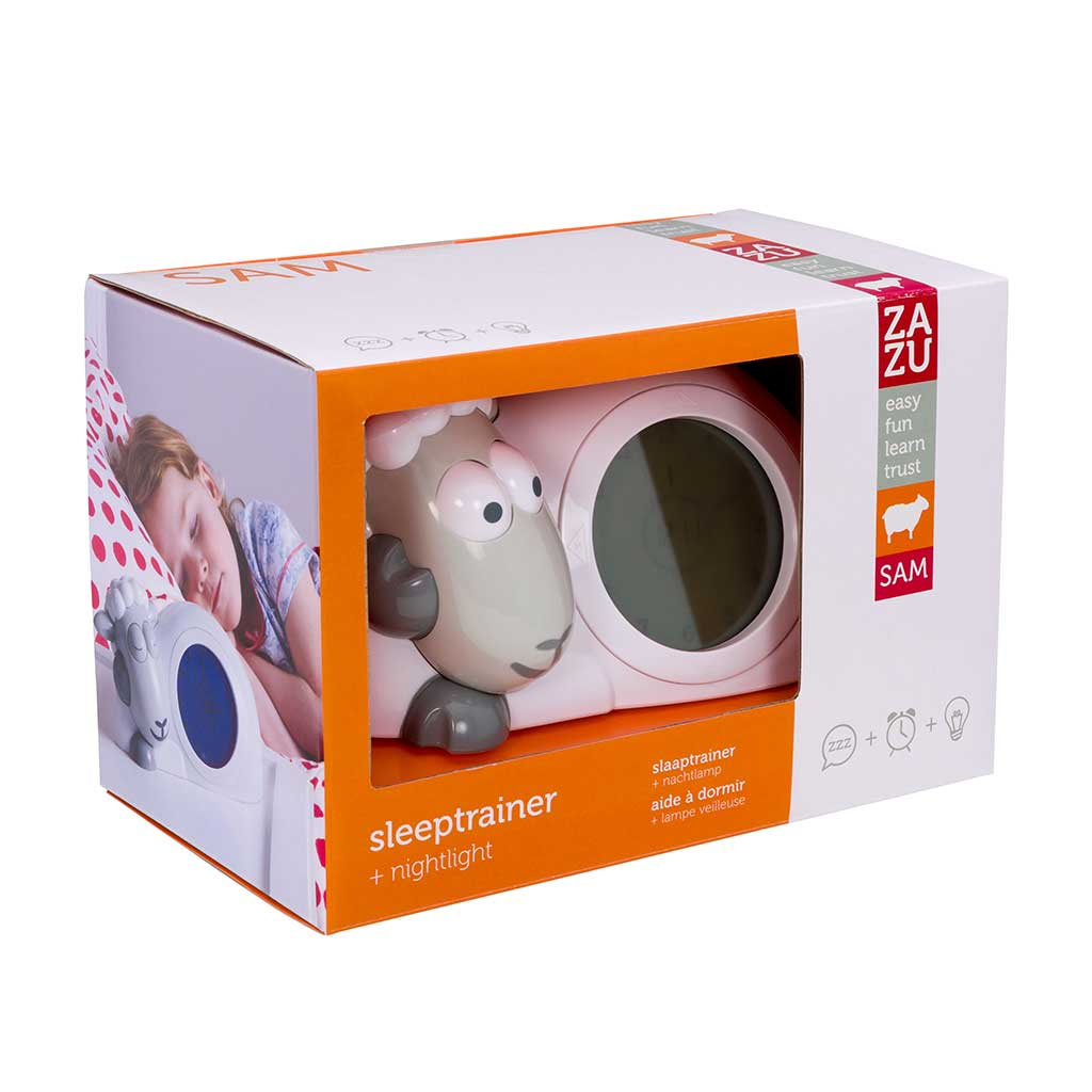 Zazu Sleeptrainer Sam The Lamb Packaging
