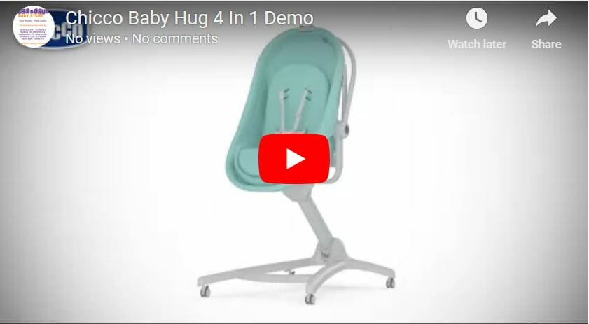 Chicco Baby Hug 4in1 Video