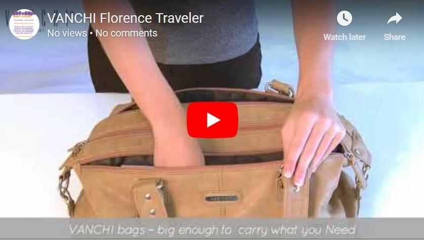 Vanchi Florence Traveler Bag Video