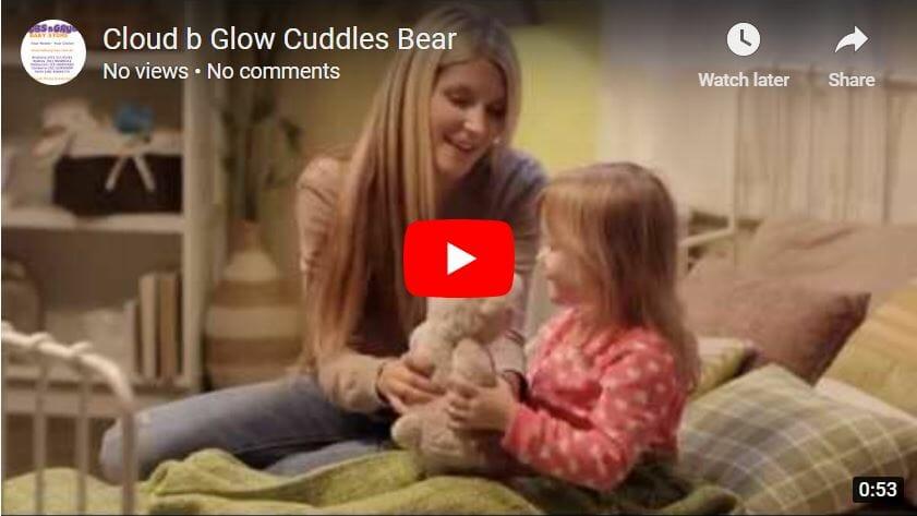 Cloud B Glow Cuddles Bear Video Demo