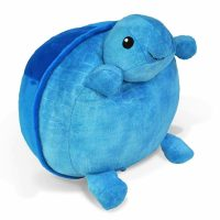 Cloud B Pouf Turtle Blue
