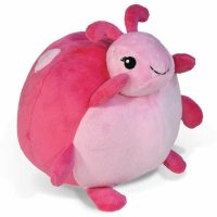 Cloud B Pouf Ladybug Pink