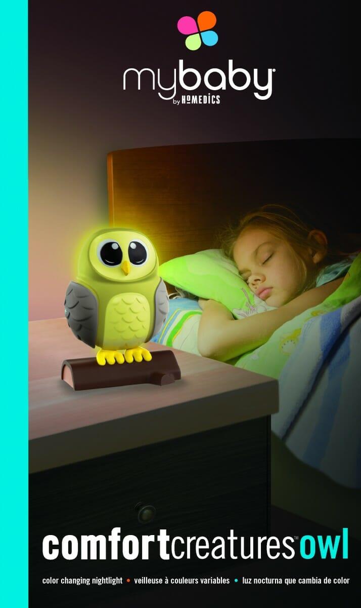 My Baby Comfort Creatures Nightlight Owl Packaging