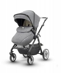 Silver Cross Pioneer Monomarque Pushchair Angle View
