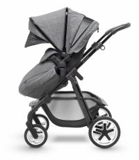 Silver Cross Pioneer Monomarque Pushchair Side Hood Extended