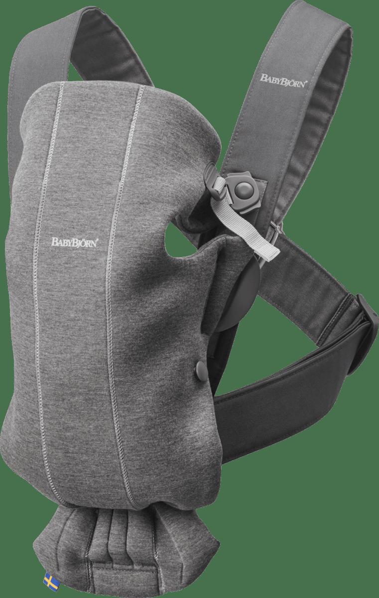 Babybjorn Baby Carrier Mini Dark Grey 3d Jersey