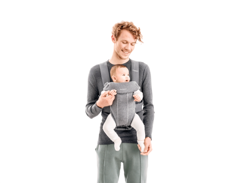Babybjorn Baby Carrier Mini Facing Out Dad 2