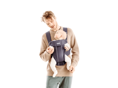 Babybjorn Baby Carrier Mini Facing Out Dad