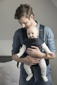 BabyBjorn Baby Carrier Mini Black, Cotton 3