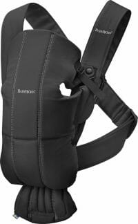 Babybjorn Baby Carrier Mini Black, Cotton