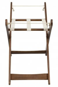 Bebe Care Moses Basket Stand Espresso Side View