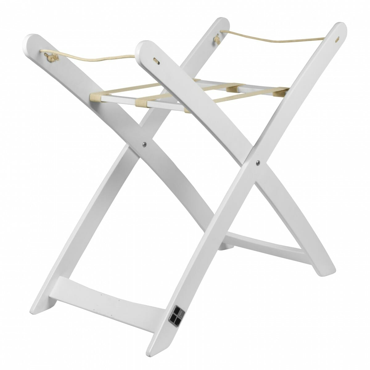 Bebe Care Moses Basket Stand White