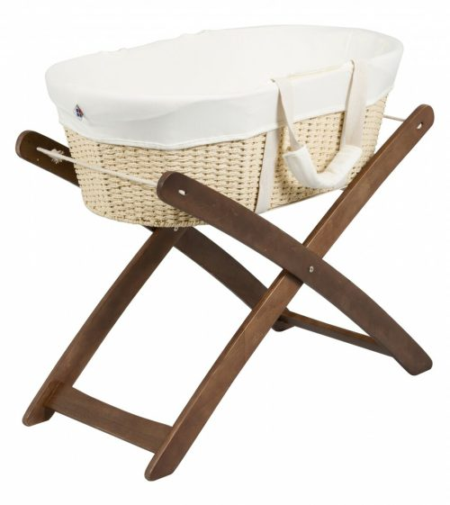 Bebe Care Moses Basket And Stand Espresso