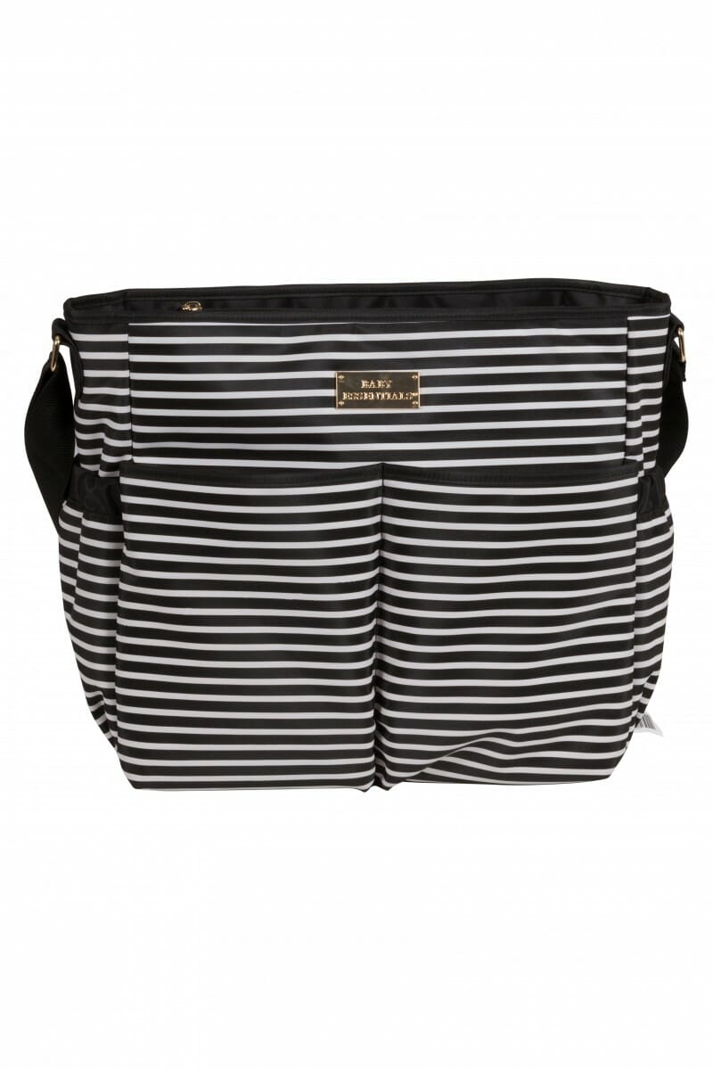 Childcare Striped Nappy Bag Front