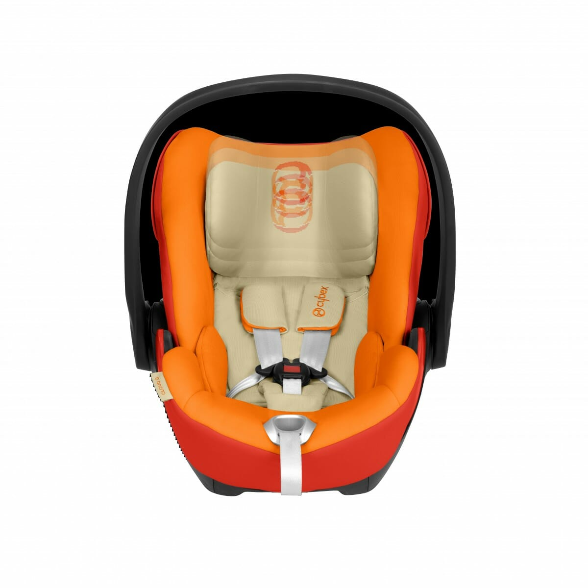 Cybex Cloud Q Autumn Gold Rear