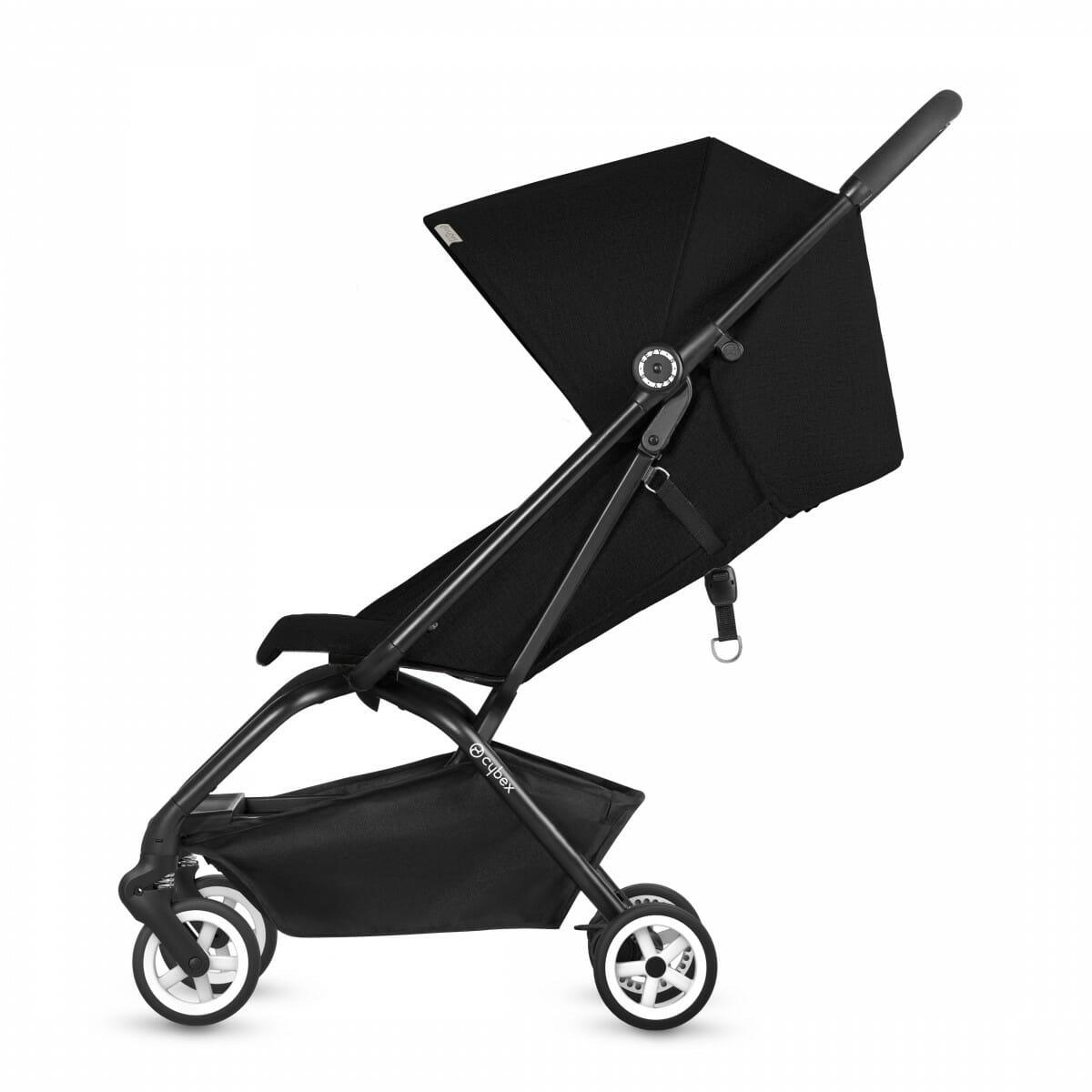 Cybex Eezy S Stroller Lavastone Black Recline