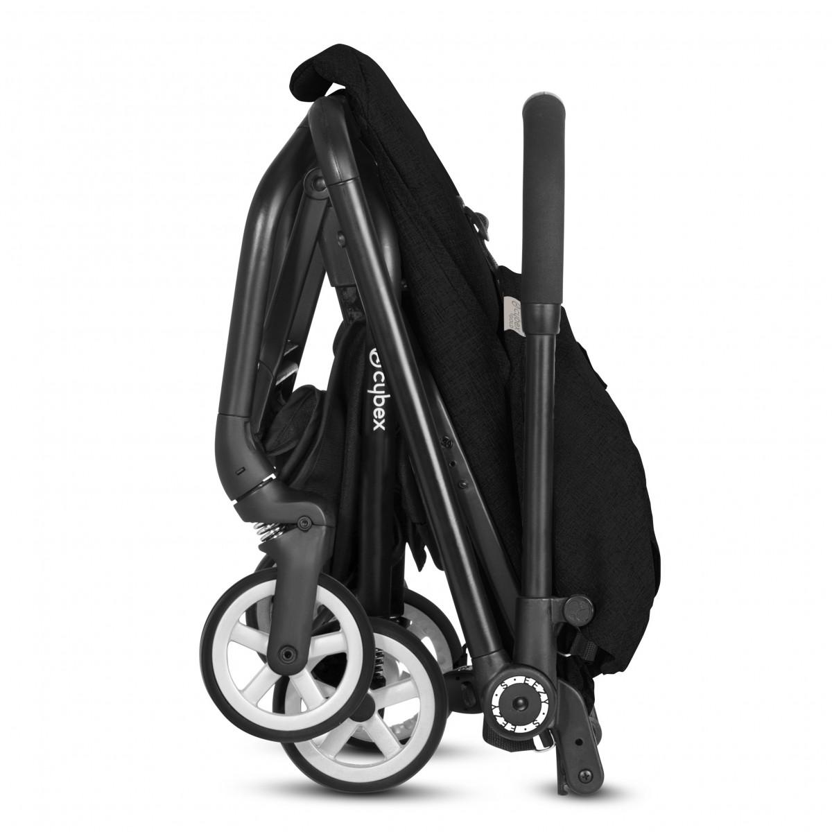 Cybex Eezy S Stroller Lavastone Black Self Standing