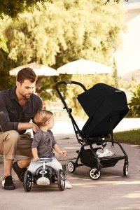 Cybex Eezy S Twist Stroller Lavastone Black Lifestyle