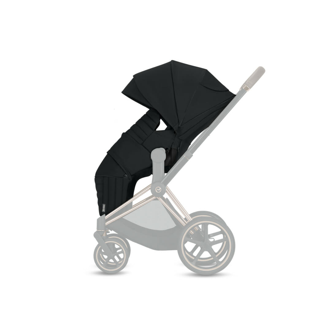 Cybex Lite Carry Cot Upright Sitting