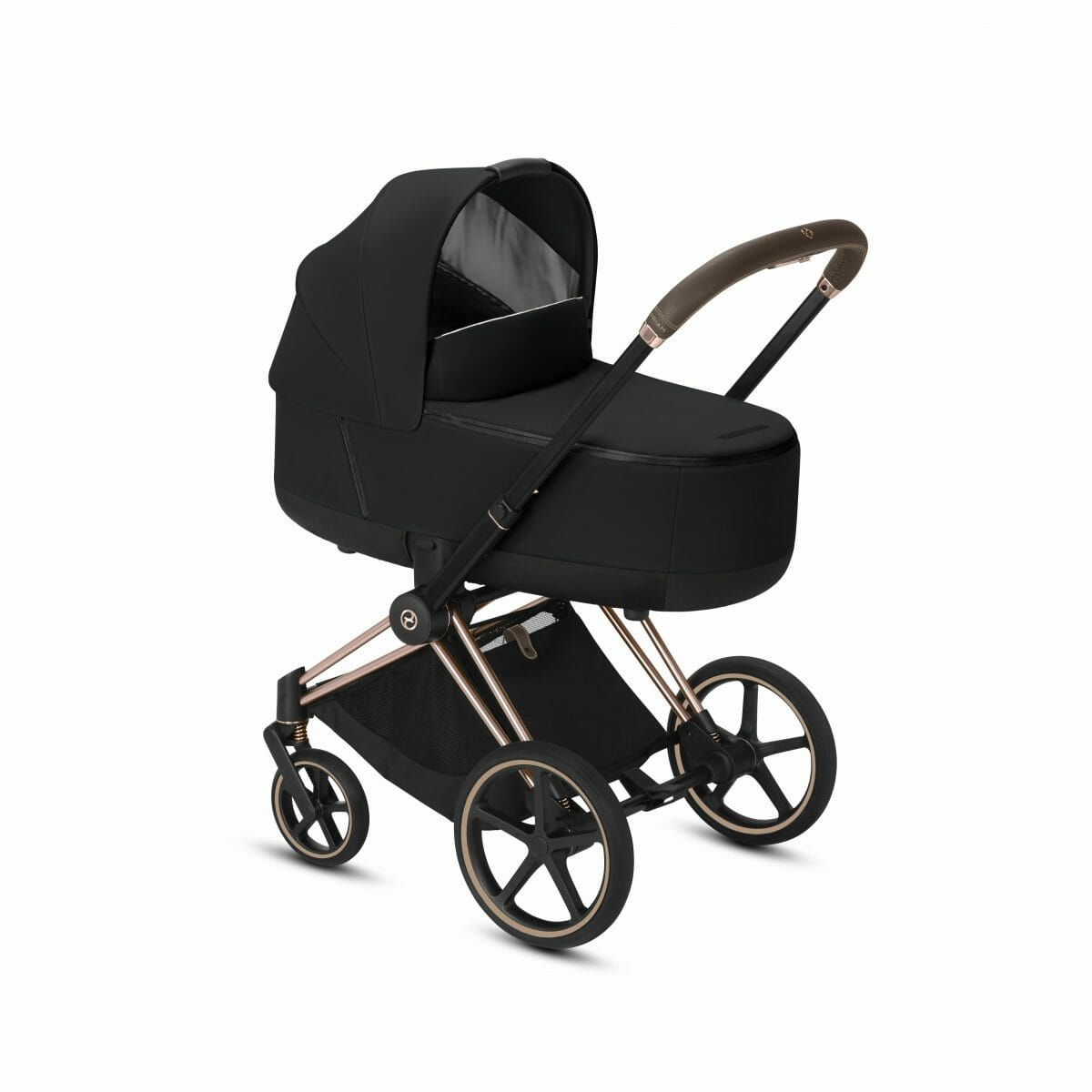 Cybex Priam Rose Gold With Black Carry Cot