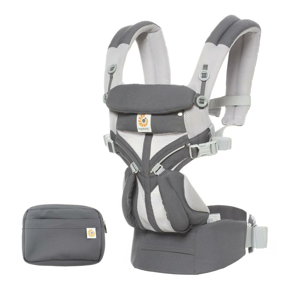 Ergobaby Omni 360 Baby Carrier Cool Air Mesh Carbon Grey