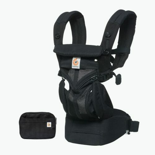 Ergobaby Omni 360 Baby Carrier Cool Air Mesh Onyx Black